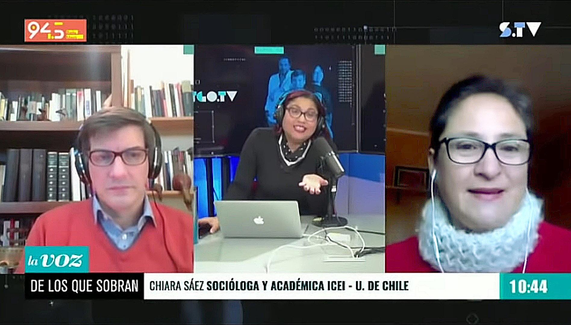 chiara sáez pluralismo tv en el matinal d e los que sobran